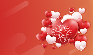 Happy <br> Valentine's Day
