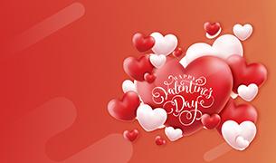 Happy <br> Valentine's Day