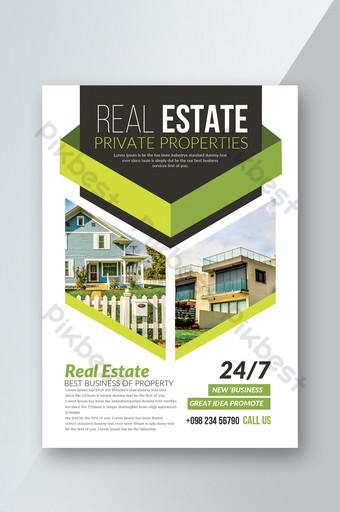 Dépliant sur les transactions immobilières Modèle PSD
