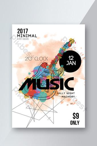 Modèles de flyers de musique jazz Modèle PSD