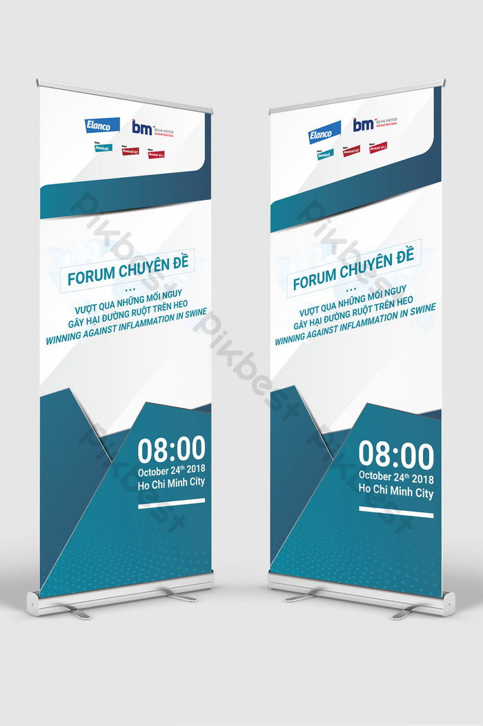corporate forum creative standee rollup