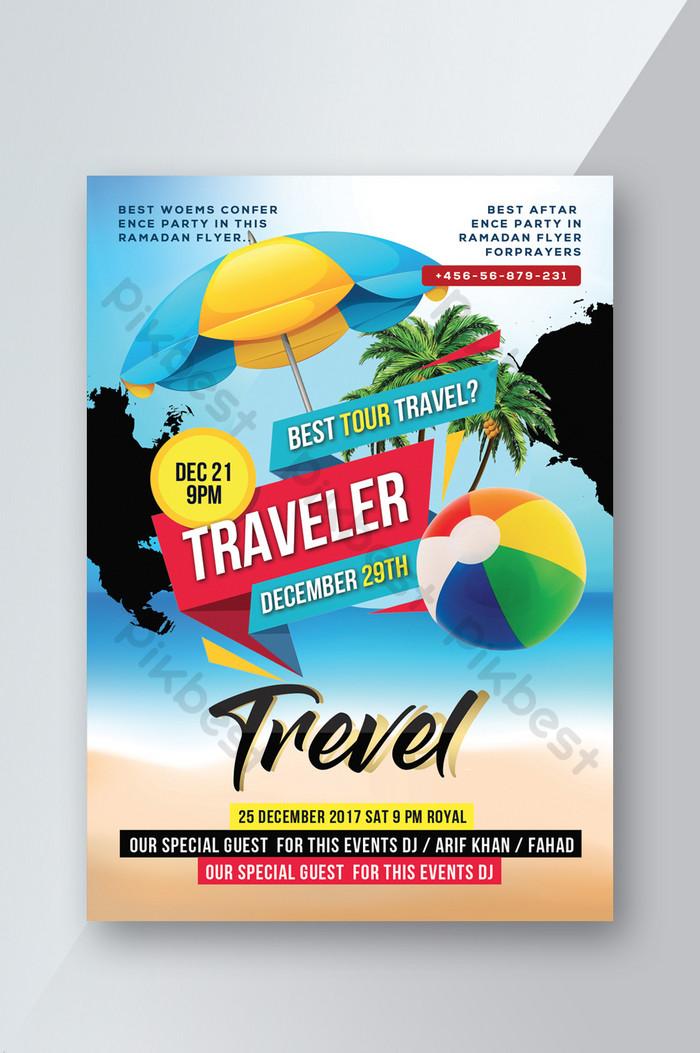 เทมเพลต psd ของตัวแทนการท่องเที่ยวแห่งประเทศไทย