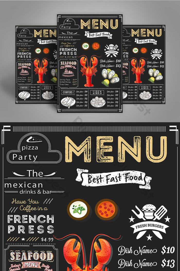 Italian Restaurant Menu Psd Free Download Pikbest