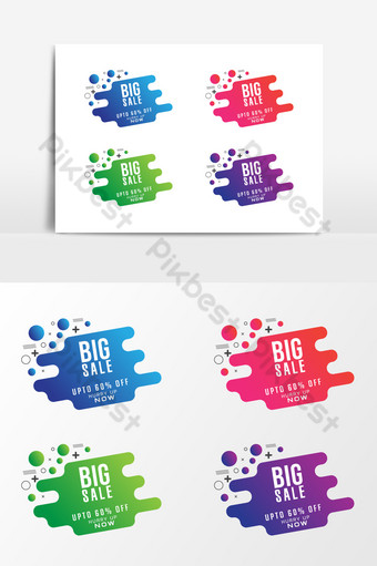 gran venta de elementos gráficos abstractos para diseño creativo Elementos graficos Modelo EPS