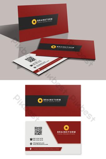 Modèle PSD modifiable de carte de visite d'entreprise Modèle PSD
