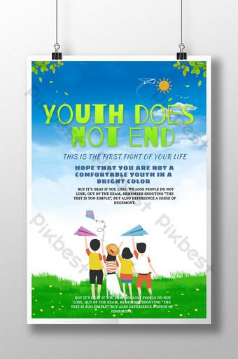 Graduation Season Landscape Poster Template PSD