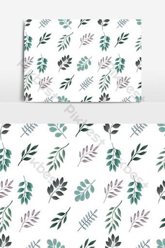 patrón floral transparente en elementos gráficos vectoriales Elementos graficos Modelo EPS