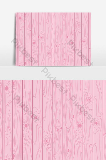 Textura de madera colores rosa claro fondo pastel ilustración vectorial Elementos graficos Modelo EPS