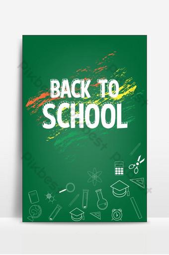 bienvenido de nuevo al fondo de la escuela Fondos Modelo PSD