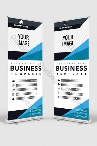 diseño de banner vertical letrero publicidad folleto flyer plantilla vector x banner Modelo PSD