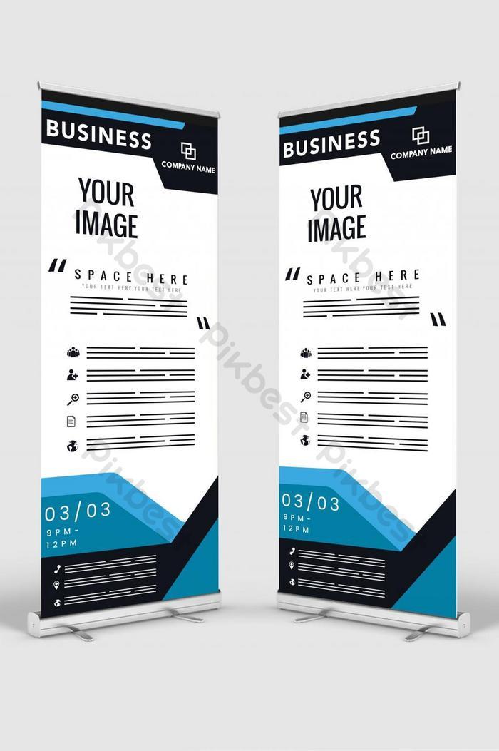 수직 배너 디자인 간판 광고 브로셔 전단지 서식 파일 벡터 x 배너