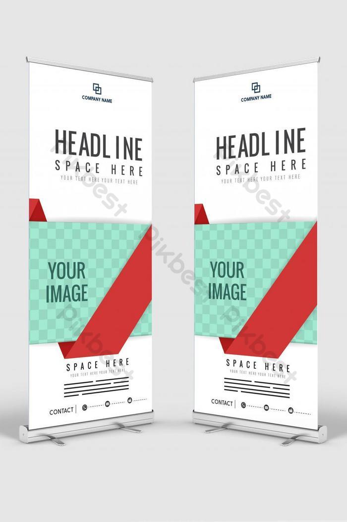 Вертикальный баннер дизайн вывеска рекламная брошюра флаер шаблон вектор x баннер