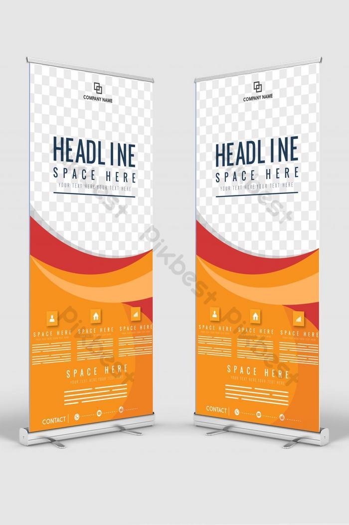عمودي لافتة تصميم لافتة إعلانية كتيب نشرة إعلانية قالب vector x banner