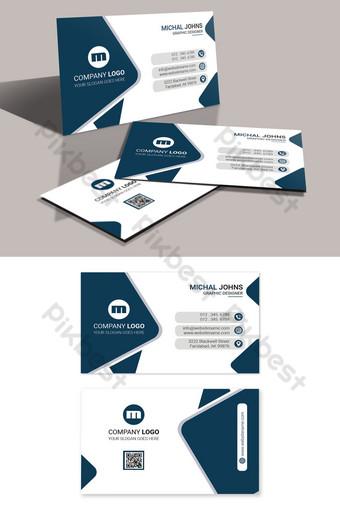 Conception de cartes de visite Modèle PSD