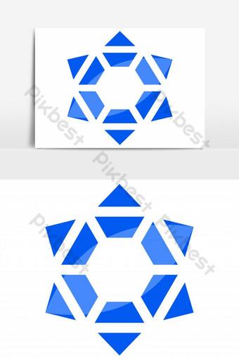 اليهود رمز شعار ناقلات عنصر الرسم صور PNG قالب EPS