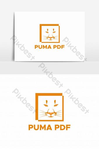 vector de logo de archivo pdf de puma Elementos graficos Modelo EPS