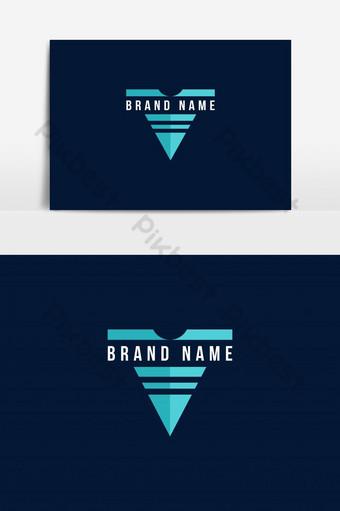 camiseta icono marca logo vector elemento gráfico Elementos graficos Modelo EPS