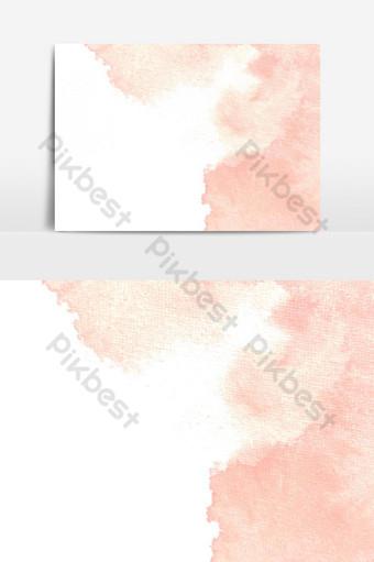 elemento gráfico de vector de efecto de textura de acuarela pintada a mano Elementos graficos Modelo PSD
