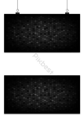 banner horizontal triangular negro textura abstracta con poca luz Modelo AI