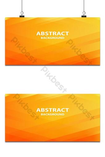 لينة ومشرقة البرتقالي والأصفر راية أفقية مجردة قالب AI