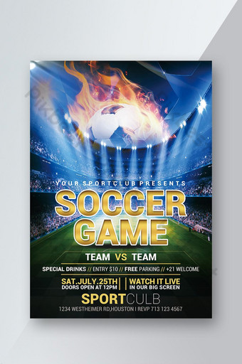 folheto do jogo da competição do clube de futebol Modelo PSD
