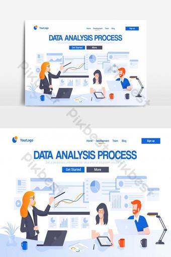 elemento gráfico de vector de pantalla de interfaz de usuario de página de Elementos graficos Modelo AI