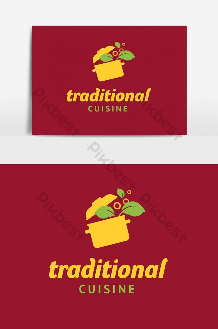 Food And Restaurant Logo Design Yellow Red Vector Graphic Element Png Images Ai Free Download Pikbest