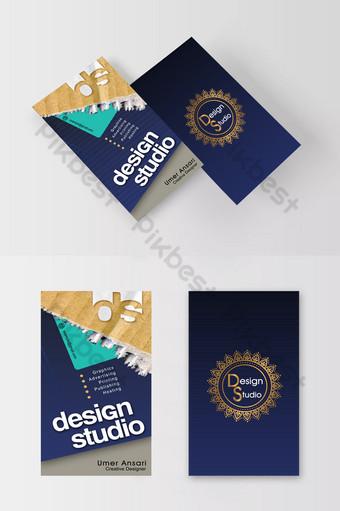 nouveau design de carte de visite Modèle PSD