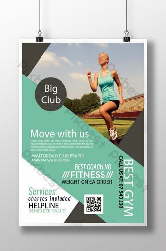 Flyer Indigo Fitness pour perte de poids Modèle PSD