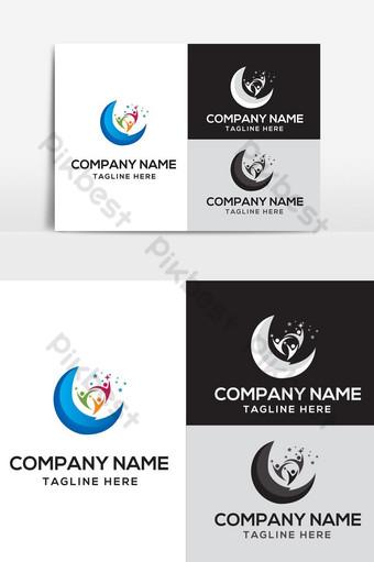 diseño de logotipo de vida de ensueño Elementos graficos Modelo AI