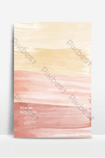 Fondo de textura abstracta de acuarela roja suave caliente y ola Fondos Modelo AI