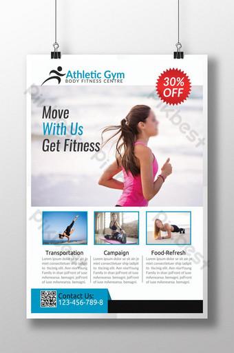 Meilleur Flyer Business Body Fitness Modèle PSD