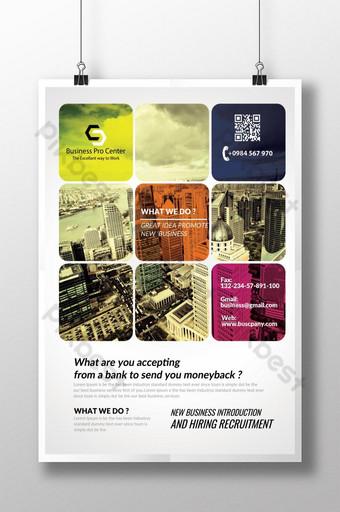 Entreprise créative et dépliant d'entreprise Modèle PSD
