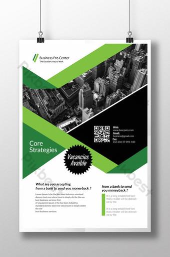 Stratégies de base pour les nouveaux dépliants de produits Modèle PSD