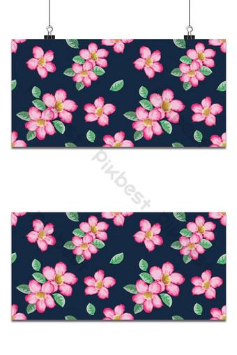 سلس نمط الوردي الزهرات خلفية الرسم بالألوان المائية style خلفيات قالب PSD