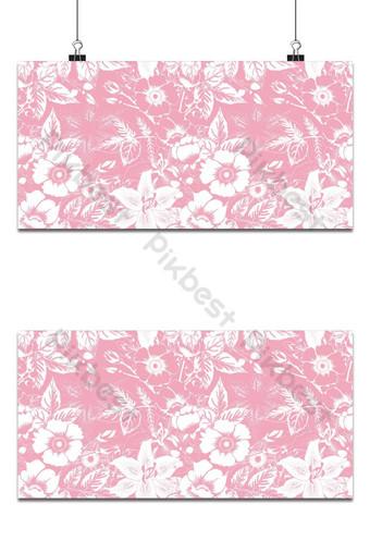 Ilustración de vector de dibujo de fondo abstracto pastel rosa salvaje de patrones sin fisuras Fondos Modelo EPS