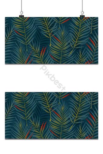 patrón sin costuras de hojas de coco Fondos Modelo AI