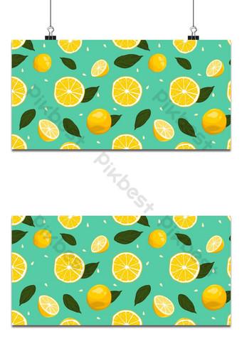 الليمون الطازج نمط سلس الخلفية خلفيات قالب AI