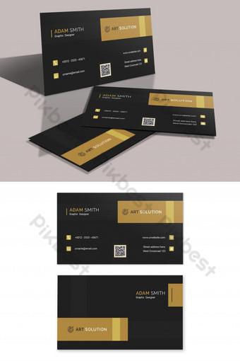 Modèle de conception de carte de visite créative Modèle PSD