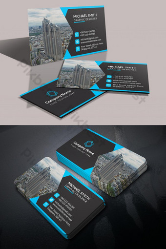 kartu bisnis real estat Templat PSD