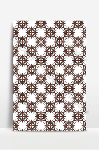 Seamless pattern of orchids Backgrounds Template EPS