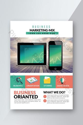 Brochure commerciale sur le marketing de nouveaux produits Modèle PSD