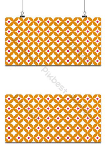 simple estilo escandinavo floral arte popular de patrones sin fisuras vector de fondo abstracto Fondos Modelo AI