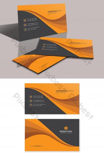 Modèle de carte de visite créative PSD Modèle PSD
