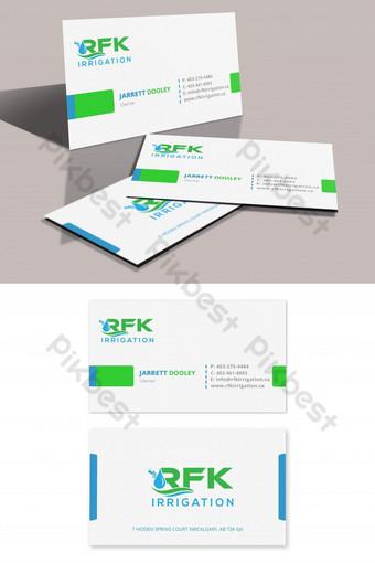 Modèles de cartes de visite Modèle PSD