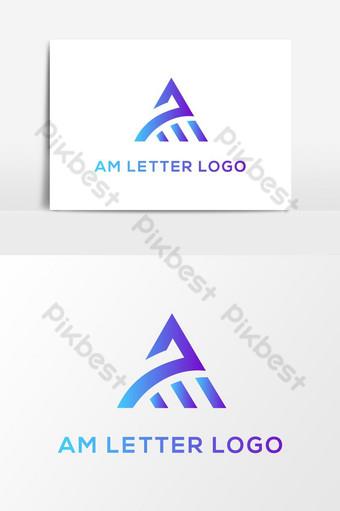 أنا الرسالة الحديثة شعار ناقلات عنصر الرسم صور PNG قالب AI