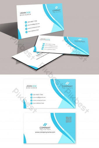 carte de visite créative Modèle PSD