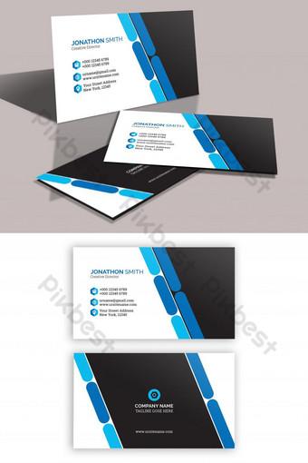 Conception de carte de visite d'entreprise PSD Modèle PSD