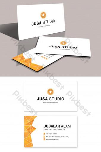 Carte de visite Studio photo Modèle PSD