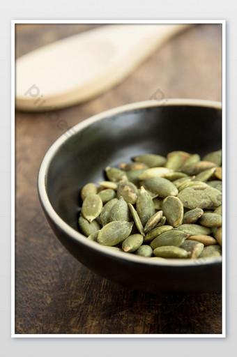 Organic Roasted Pumpkin Seed Photos Photo Template JPG